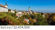 Church of St. James in Czech town of Kutna Hora. Стоковое фото, фотограф Яков Филимонов / Фотобанк Лори