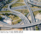 Купить «Image of car interchange of Barcelona», фото № 32509653, снято 24 мая 2018 г. (c) Яков Филимонов / Фотобанк Лори