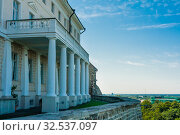 Stenbock House or Stenbocki maja, the seat of the Estonian government, Tallinn, Estonia. Стоковое фото, фотограф Николай Коржов / Фотобанк Лори