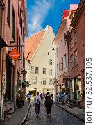Mundy street (Mündi tänav). Tallinn. Estonia. Редакционное фото, фотограф Николай Коржов / Фотобанк Лори