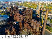 Купить «Metallurgical plant in Ostrava», фото № 32538477, снято 17 октября 2019 г. (c) Яков Филимонов / Фотобанк Лори