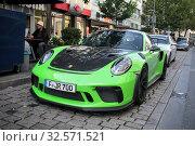 Купить «Porsche 911 GT3 RS», фото № 32571521, снято 18 сентября 2019 г. (c) Art Konovalov / Фотобанк Лори