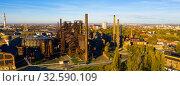 Купить «Abandoned blast furnaces of Vitkovice Iron and Steel Works», фото № 32590109, снято 17 октября 2019 г. (c) Яков Филимонов / Фотобанк Лори