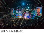 Купить «Песня года 2019. Концерт в ВТБ Арене 07.12.2019.», эксклюзивное фото № 32616281, снято 7 декабря 2019 г. (c) Алексей Бок / Фотобанк Лори