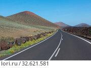Landscape of the Lanzarote Island Spain. Стоковое фото, фотограф Zoonar.com/matthieu gallet / easy Fotostock / Фотобанк Лори
