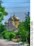 Купить «Village Vilkovo in Odessa region, Ukraine», фото № 32627445, снято 23 июня 2019 г. (c) Sergii Zarev / Фотобанк Лори