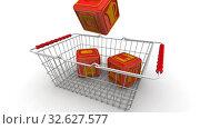 Купить «Покупка бытовой техники», видеоролик № 32627577, снято 12 декабря 2019 г. (c) WalDeMarus / Фотобанк Лори