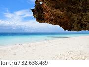 Купить «Zanzibar, Tanzania, Africa. Rocks on the beach», фото № 32638489, снято 3 октября 2019 г. (c) Знаменский Олег / Фотобанк Лори