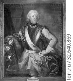 Johan Henrik Scheffel, Gustaf Gyllengranath, Gustav Gyllengranat, 1677-1749, painting, Oil, Height, 140 cm (55.1 inch), Width, 111 cm (43.7 inches) (2019 год). Редакционное фото, фотограф ARTOKOLORO QUINT LOX LIMITED / age Fotostock / Фотобанк Лори