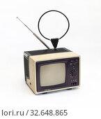 Советский телевизор Шилялис (2019 год). Редакционное фото, фотограф EgleKa / Фотобанк Лори