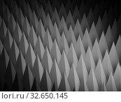 Купить «Abstract dark digital relief structure, 3d background», иллюстрация № 32650145 (c) EugeneSergeev / Фотобанк Лори