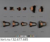 Купить «Documented in Villa Antiquity Storage by Curator: David Saunders, Imaging Technician: Rosanna Chan», фото № 32677685, снято 17 июня 2019 г. (c) age Fotostock / Фотобанк Лори