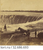 Купить «Niagara. The Horse Shoe Fall., Edward Anthony (American, 1818 - 1888), about 1859, Albumen silver print», фото № 32686693, снято 17 июня 2019 г. (c) age Fotostock / Фотобанк Лори