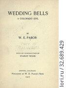 Купить «Wedding bells : a Colorado idyl : Pabor, William E. (William Edgar), b. 1834», фото № 32689429, снято 4 июня 2020 г. (c) age Fotostock / Фотобанк Лори