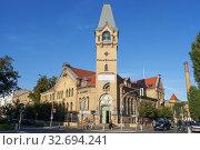 Kulturbrauerei on Schönhauser Allee, Prenzlauer Berg, former brewery, now a cultural centre in Berlin Germany. Стоковое фото, фотограф Sergi Reboredo / age Fotostock / Фотобанк Лори