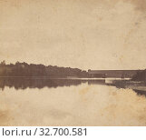 Купить «Evening on the Merrimack., G.C. Robinson (American, active 1860s - 1880s), 1875–1885, Albumen silver print», фото № 32700581, снято 17 июня 2019 г. (c) age Fotostock / Фотобанк Лори