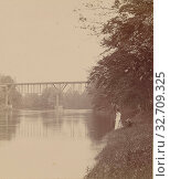 Grand River, Mich., Unknown maker, American, about 1890, Gelatin silver print (2019 год). Редакционное фото, фотограф ARTOKOLORO QUINT LOX LIMITED / age Fotostock / Фотобанк Лори