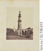 Djirdjeh. Mosquée en Ruines sur le Bord du Nil, Félix Teynard (French, 1817 - 1892), Girga, Egypt, negative 1851 - 1852, print 1853, Salted paper print, 30.4 × 25.1 cm (11 15/16 × 9 7/8 in.) (2019 год). Редакционное фото, фотограф ARTOKOLORO QUINT LOX LIMITED / age Fotostock / Фотобанк Лори