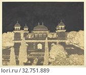 The Tomb of Itimad-ud-Dawlah, c. 1858/62, Dr. John Murray, Scottish, 1809–1898, Scotland, Waxed paper negative, 36 x 46 cm (image/paper, sight), 56 x 71.1 cm (mount) (2019 год). Редакционное фото, фотограф ARTOKOLORO QUINT LOX LIMITED / age Fotostock / Фотобанк Лори