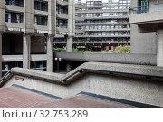 Купить «Barbican Centre in London», фото № 32753289, снято 23 мая 2019 г. (c) Caro Photoagency / Фотобанк Лори