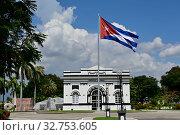 Купить «Cuba, Santiago de Cuba- Entrance to the cemetery Santa Ifigenia», фото № 32753605, снято 1 августа 2019 г. (c) Caro Photoagency / Фотобанк Лори