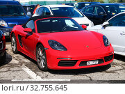 Купить «Porsche 981 Boxster», фото № 32755645, снято 11 сентября 2019 г. (c) Art Konovalov / Фотобанк Лори