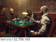 Купить «Male player cheating in poker», фото № 32756165, снято 8 декабря 2019 г. (c) Tryapitsyn Sergiy / Фотобанк Лори