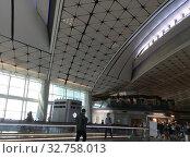 Международный аэропорт Гонконга (2019 год). Редакционное фото, фотограф Юрий Хабаров / Фотобанк Лори