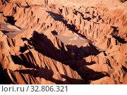 Купить «Valle de la Muerte in der Atacama Wüste in Chile», фото № 32806321, снято 29 мая 2020 г. (c) easy Fotostock / Фотобанк Лори