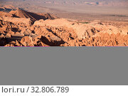 Купить «Valle de la Muerte in der Atacama Wüste in Chile», фото № 32806789, снято 29 мая 2020 г. (c) easy Fotostock / Фотобанк Лори