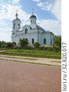 Купить «Храм Илии пророка в селе Ильинское», фото № 32820017, снято 1 июля 2019 г. (c) Геннадий / Фотобанк Лори