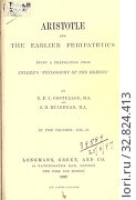 Купить «Aristotle and the earlier Peripatetics : Zeller, Eduard, 1814-1908», фото № 32824413, снято 6 июня 2020 г. (c) age Fotostock / Фотобанк Лори