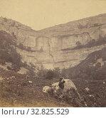 Malham Cove., M. Horner (British, active Settle, England 1860s), 1860s, Albumen silver print (2019 год). Редакционное фото, фотограф ARTOKOLORO QUINT LOX LIMITED / age Fotostock / Фотобанк Лори