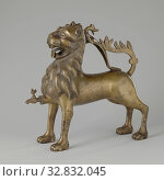 Купить «Aquamanile in the form of a lion Aquamanile in the form of a lion Lion-aquamanile, The object cast in cire perdue technique and largely annexed has the...», фото № 32832045, снято 3 июля 2020 г. (c) age Fotostock / Фотобанк Лори
