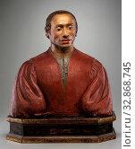 Attributed to Pietro Torrigiani, Italian, 1472 - 1528, Palla Rucellai, c. 1506, Terracotta with polychrome decoration, Overall: 22 5/8 × 33 7/8 × 10 inches (57.5 × 86 × 25.4 cm) Редакционное фото, фотограф ARTOKOLORO QUINT LOX LIMITED / age Fotostock / Фотобанк Лори