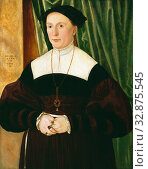 Купить «Hans Muelich, German, 1516-1573, Portrait of a Woman, 1541, Oil on wood panel, Unframed: 25 1/2 × 19 1/2 inches (64.8 × 49.5 cm)», фото № 32875545, снято 27 мая 2020 г. (c) age Fotostock / Фотобанк Лори