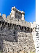 Купить «Четырехугольный замок в поселке Мардакян. Мардакан. Баку. Азербайджан», фото № 32891273, снято 26 сентября 2019 г. (c) Евгений Ткачёв / Фотобанк Лори