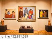 Выставка в музее Востока. Москва (2020 год). Редакционное фото, фотограф Victoria Demidova / Фотобанк Лори