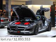Mercedes-Benz SLS AMG Brabus 700 (2013 год). Редакционное фото, фотограф Art Konovalov / Фотобанк Лори