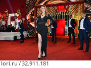 Rita Rusic enters in the house of ' The grande fratello Vip ' ( The big brother Vip ) Rome, ITALY-08-01-2020. Редакционное фото, фотограф Maria Laura Antonelli / AGF/Maria Laura Antonelli / age Fotostock / Фотобанк Лори