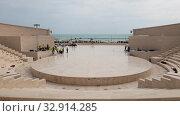 Купить «Doha, Qatar - Nov 20. 2019. Katara Amphitheatre in the Katara Village», видеоролик № 32914285, снято 9 января 2020 г. (c) Володина Ольга / Фотобанк Лори