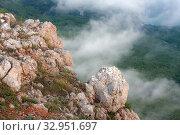Купить «Clouds under the rocks», фото № 32951697, снято 28 апреля 2008 г. (c) Argument / Фотобанк Лори