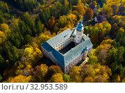 Купить «Lemberk Castle, Czech Republic», фото № 32953589, снято 19 октября 2019 г. (c) Яков Филимонов / Фотобанк Лори