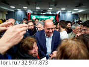 Купить «Democratic Party Secretary Nicola Zingaretti with supporters attends at the closer of the regional electoral campaign in support of Stefano Bonaccini,...», фото № 32977873, снято 23 января 2020 г. (c) age Fotostock / Фотобанк Лори