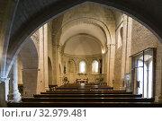 Купить «Iglesia romanica,de San Martín de Tours,consagrada en 1156, San Martin de Unx,comunidad foral de Navarra, Spain.», фото № 32979481, снято 29 февраля 2020 г. (c) easy Fotostock / Фотобанк Лори