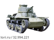 """Купить «Light assault tank """"KE-NU"""" type 4, Japan», фото № 32994221, снято 24 июня 2018 г. (c) Алексей Кузнецов / Фотобанк Лори"""