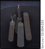 'Surrealist Landscape', 1930, Victor Brauner (1903-1966) (2019 год). Редакционное фото, фотограф Artelan / age Fotostock / Фотобанк Лори