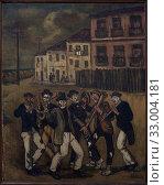 'Cádiz Street Musicians', ca. 1938, José Gutiérrez Solana (1886-1945) (2019 год). Редакционное фото, фотограф Artelan / age Fotostock / Фотобанк Лори