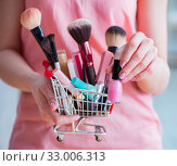 Купить «Beauty products nail care tools pedicure closeup», фото № 33006313, снято 31 мая 2017 г. (c) Elnur / Фотобанк Лори