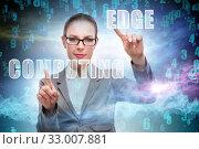 Concept of cloud edge and fog computing. Стоковое фото, фотограф Elnur / Фотобанк Лори